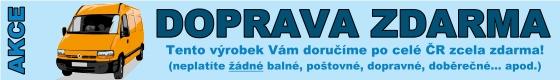 Toto zboží Vám z www.xtech.cz dodáme až domů bez jakýchkoliv dalších poplatků!